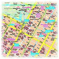 PUBLICPRESS Stadtplan New York - Produktdetailbild 1