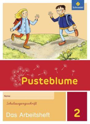 Pusteblume. Das Sprachbuch, Allgemeine Ausgabe 2015: 2. Schuljahr, Das Arbeitsheft Schulausgangsschrift