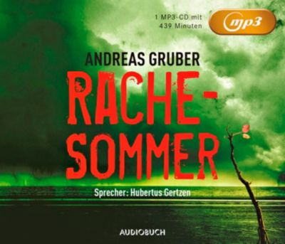 Rachesommer, 1 MP3-CD, Andreas Gruber