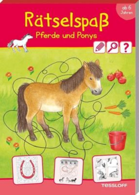 Rätselspaß Pferde & Ponys