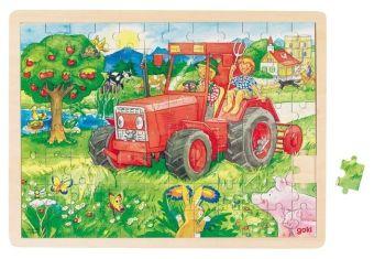 Rahmenpuzzle Traktor, goki
