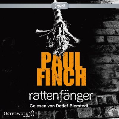Rattenfänger, 2 mp3-CDs, Paul Finch
