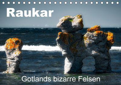 Raukar - Gotlands bizarre Felsen (Tischkalender 2018 DIN A5 quer) Dieser erfolgreiche Kalender wurde dieses Jahr mit gle, André Poling
