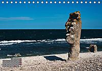 Raukar - Gotlands bizarre Felsen (Tischkalender 2018 DIN A5 quer) Dieser erfolgreiche Kalender wurde dieses Jahr mit gle - Produktdetailbild 3