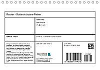Raukar - Gotlands bizarre Felsen (Tischkalender 2018 DIN A5 quer) Dieser erfolgreiche Kalender wurde dieses Jahr mit gle - Produktdetailbild 13