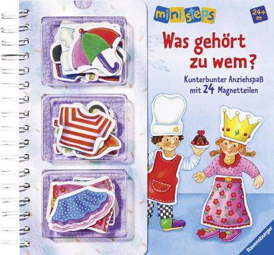 Ravensburger ministeps - Was gehört zu wem?, Irmgard Eberhard