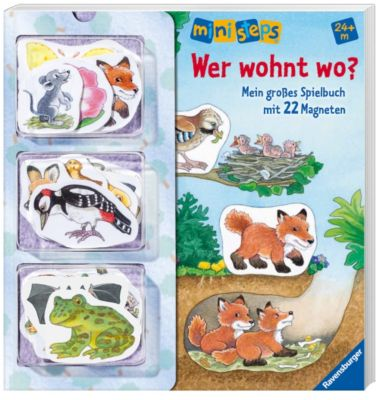 Ravensburger ministeps - Wer wohnt wo?, Irmgard Eberhard