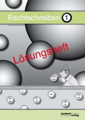 Rechtschreiben - Das Selbstlernheft, Lösungsheft, Peter Wachendorf, Jan Debbrecht