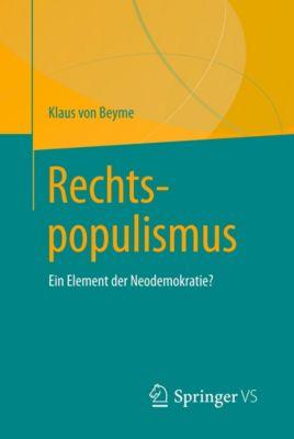 Rechtspopulismus, Klaus von Beyme