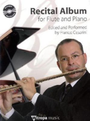Recital Album for Flute and Piano, m. Audio-CD