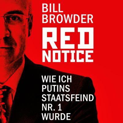 Red Notice, 2 MP3-CDs, Bill Browder