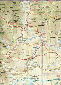 Reise Know-How Landkarte USA 01, Nordwest (1:750.000) : Washington und Oregon - Produktdetailbild 2