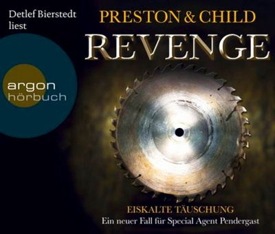 Revenge - Eiskalte Täuschung, 6 Audio-CDs, Douglas Preston, Lincoln Child