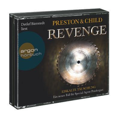 Revenge - Eiskalte Täuschung, 6 CDs, Douglas Preston, Lincoln Child