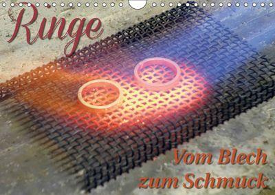 Ringe - Vom Blech zum Schmuck (Wandkalender 2018 DIN A4 quer), Markus Dorn