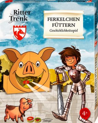 Ritter Trenk: Ferkelchen füttern, Kirsten Boie
