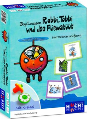 Robbi, Tobbi und das Fliewatüüt - Die Roboterprüfung, Kai Haferkamp