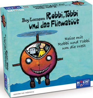 Robbi, Tobbi und das Fliewatüüt (Kinderspiel), Kai Haferkamp, Boy Lornsen