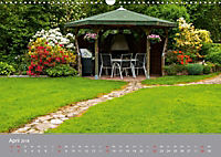 Romantische Garten-Paradiese (Wandkalender 2018 DIN A3 quer) - Produktdetailbild 4