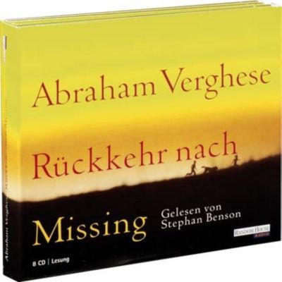 Rückkehr nach Missing, 8 Audio-CDs, Abraham Verghese