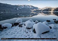 Rund um den Eibsee (Wandkalender 2018 DIN A2 quer) Dieser erfolgreiche Kalender wurde dieses Jahr mit gleichen Bildern u - Produktdetailbild 12