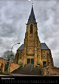 Sa(ar)krale Baukunst - Kirchenarchitektur im Saarland (Wandkalender 2018 DIN A2 hoch) - Produktdetailbild 12