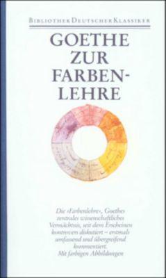 Sämtliche Werke, Briefe, Tagebücher und Gespräche: Bd.23/1 Zur Farbenlehre, Johann Wolfgang von Goethe