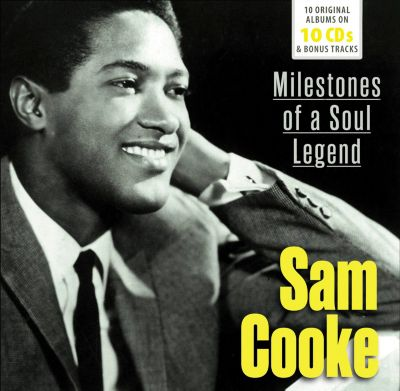 Sam Cooke - Milestones of a Legend - 10 Original Albums & Bonus Tracks, 10 CDs, Sam Cooke