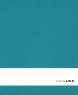 SAM's Notebook C Format 14,5 x 17,5 cm, kariert türkis