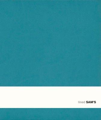 SAM's Notebook C Format 14,5 x 17,5 cm, liniert türkis