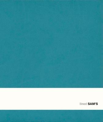 SAM's Notebook D Format 17,5 x 20,5 cm, liniert türkis