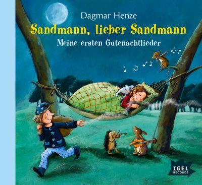 Sandmann, lieber Sandmann, 1 Audio-CD, Dagmar Henze