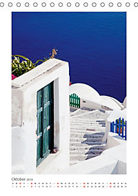 SANTORINI - INSEL DES LICHTS (Tischkalender 2019 DIN A5 hoch) - Produktdetailbild 10