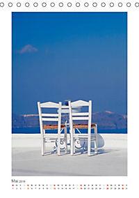 SANTORINI - INSEL DES LICHTS (Tischkalender 2019 DIN A5 hoch) - Produktdetailbild 5