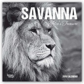 Savanna: Africa's Treasure 2018, BrownTrout Publisher