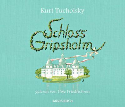 Schloss Gripsholm, 4 Audio-CDs, Kurt Tucholsky