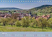 Schöne Aussichten in die Fränkische Schweiz (Tischkalender 2018 DIN A5 quer) Dieser erfolgreiche Kalender wurde dieses J - Produktdetailbild 4