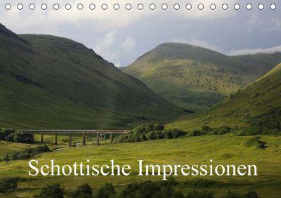Schottische Impressionen (Tischkalender 2018 DIN A5 quer), samuel schmid