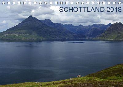 Schottland 2018 (Tischkalender 2018 DIN A5 quer), Katja Jentschura