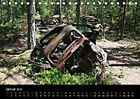 Schrottautos im Kyrkö Mosse (Tischkalender 2018 DIN A5 quer) - Produktdetailbild 1