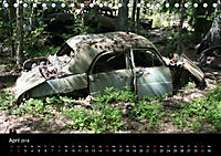 Schrottautos im Kyrkö Mosse (Tischkalender 2018 DIN A5 quer) - Produktdetailbild 4