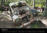 Schrottautos im Kyrkö Mosse (Tischkalender 2018 DIN A5 quer) - Produktdetailbild 8