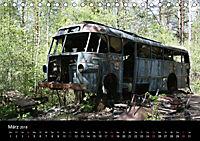 Schrottautos im Kyrkö Mosse (Tischkalender 2018 DIN A5 quer) - Produktdetailbild 3