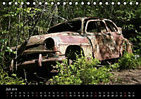 Schrottautos im Kyrkö Mosse (Tischkalender 2018 DIN A5 quer) - Produktdetailbild 7