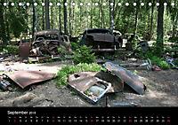 Schrottautos im Kyrkö Mosse (Tischkalender 2018 DIN A5 quer) - Produktdetailbild 9