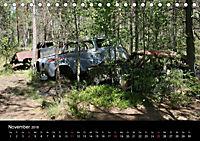 Schrottautos im Kyrkö Mosse (Tischkalender 2018 DIN A5 quer) - Produktdetailbild 11