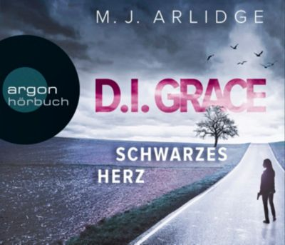 Schwarzes Herz, 6 Audio-CDs, Matthew J. Arlidge