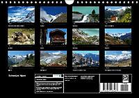 Schweizer Alpen (Wandkalender immerwährend DIN A4 quer) - Produktdetailbild 13