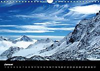 Schweizer Alpen (Wandkalender immerwährend DIN A4 quer) - Produktdetailbild 1