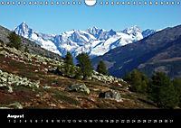 Schweizer Alpen (Wandkalender immerwährend DIN A4 quer) - Produktdetailbild 8